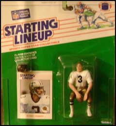 1988 Football Bobby Hebert Starting Lineup Picture
