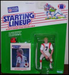 1988 Football Boomer Esiason Starting Lineup Picture