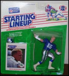 1988 Football Brian Bosworth Starting Lineup Picture