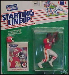1988 Football Carlos Carson Starting Lineup Picture