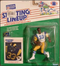 1988 Football Charles White Starting Lineup Picture