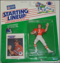 1988 Football John Elway Starting Lineup Picture