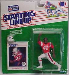 1988 Football Ronnie Lippett Starting Lineup Picture