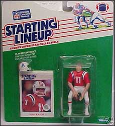 1988 Football Tony Eason Starting Lineup Picture