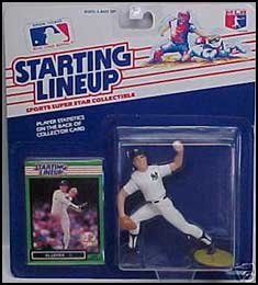 1989 Baseball Al Leiter Starting Lineup Picture