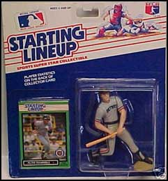 1989 Baseball Alan Trammell Starting Lineup Picture