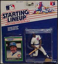 1989 Baseball Andre Dawson Starting Lineup Picture