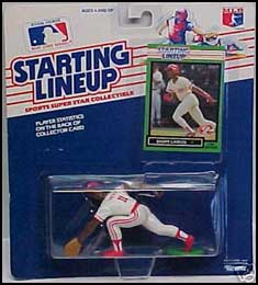 1989 Baseball Barry Larkin Starting Lineup Picture