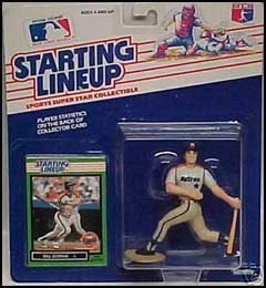 1989 Baseball Billy Doran Starting Lineup Picture