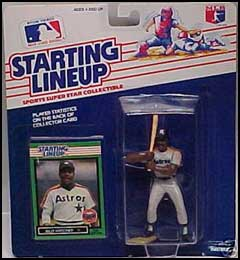 1989 Baseball Billy Hatcher Starting Lineup Picture