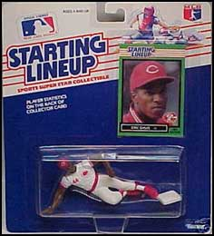 1989 Baseball Bo Diaz Starting Lineup Picture