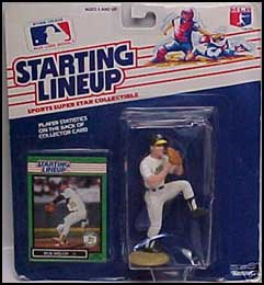 1989 Baseball Bob Welch Starting Lineup Picture