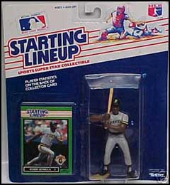 1989 Baseball Bobby Bonilla Starting Lineup Picture