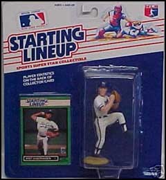 1989 Baseball Bret Saberhagen Starting Lineup Picture