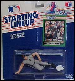 1989 Baseball Brett Butler Starting Lineup Picture