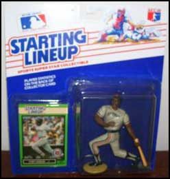 1989 Baseball Chet Lemon Starting Lineup Picture