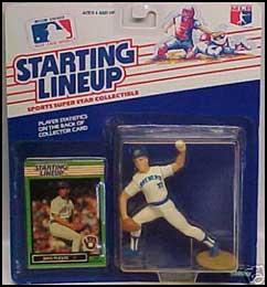 1989 Baseball Dan Plesac Starting Lineup Picture