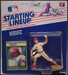 1989 Baseball Danny Jackson Starting Lineup Picture