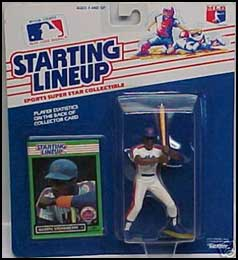 1989 Baseball Darryl Strawberry Starting Lineup Picture