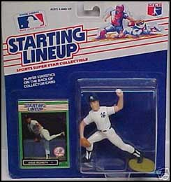 1989 Baseball Dave Righetti Starting Lineup Picture