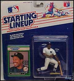 1989 Baseball Dave Winfield Starting Lineup Picture