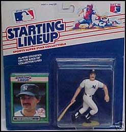 1989 Baseball Don Mattingly Starting Lineup Picture