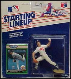 1989 Baseball Frank Viola Starting Lineup Picture