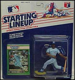 1989 Baseball George Bell Starting Lineup Picture