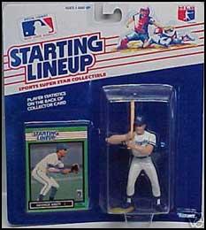 1989 Baseball George Brett Starting Lineup Picture