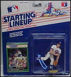 1989 Baseball Greg Maddux Starting Lineup Picture