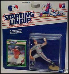 1989 Baseball Greg Swindell Starting Lineup Picture