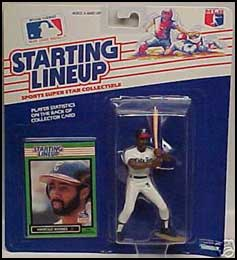 1989 Baseball Harold Baines Starting Lineup Picture