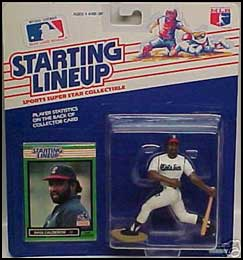 1989 Baseball Ivan Calderon Starting Lineup Picture