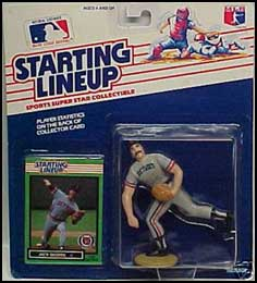 1989 Baseball Jack Morris Starting Lineup Picture
