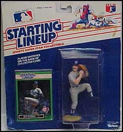 1989 Baseball Jeff Russell Starting Lineup Picture