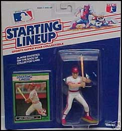 1989 Baseball Jeff Treadway Starting Lineup Picture
