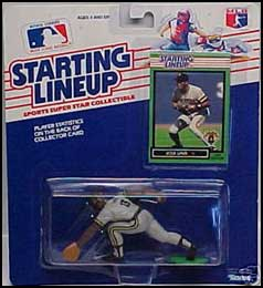1989 Baseball Jose Lind Starting Lineup Picture