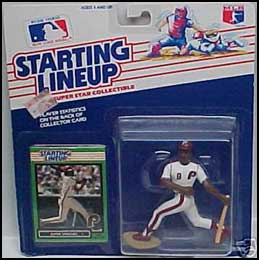 1989 Baseball Juan Samuel Starting Lineup Picture