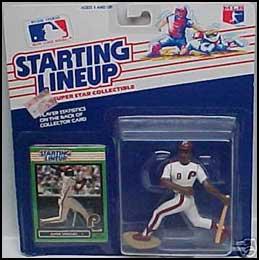 Juan Samuel 1989 Baseball SLU Figure