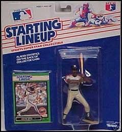 1989 Baseball Kevin Bass Starting Lineup Picture