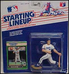 1989 Baseball Kevin Seitzer Starting Lineup Picture