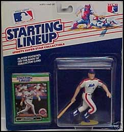1989 Baseball Lenny Dykstra Starting Lineup Picture