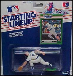 1989 Baseball Mark Grace Starting Lineup Picture