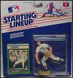 1989 Baseball Mark Gubicza Starting Lineup Picture
