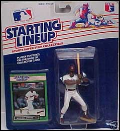 1989 Baseball Marvell Wynne Starting Lineup Picture