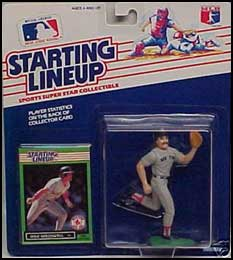 1989 Baseball Mike Greenwell Starting Lineup Picture