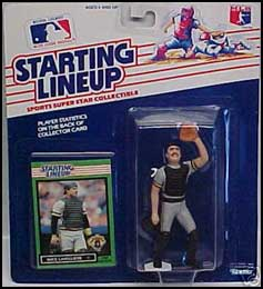 1989 Baseball Mike LaValliere Starting Lineup Picture