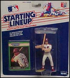 1989 Baseball Mike Schmidt Starting Lineup Picture