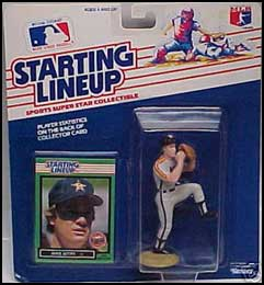 1989 Baseball Mike Scott Starting Lineup Picture