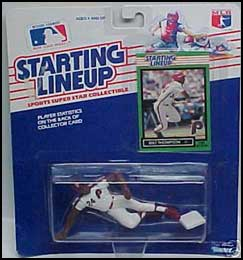 1989 Baseball Milt Thompson Starting Lineup Picture
